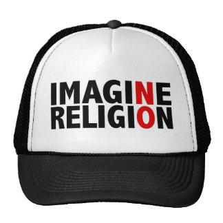N'imaginez aucune religion casquettes