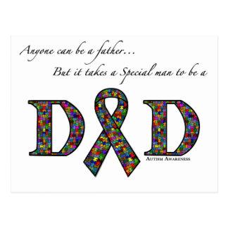 N'importe qui peut être un autisme de père… carte postale