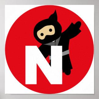 ninja poster