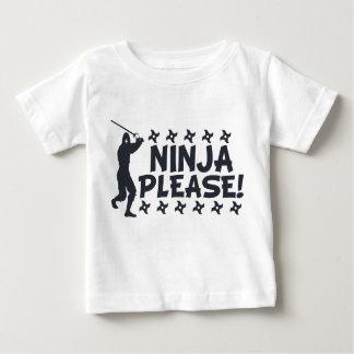 Ninja svp t-shirt pour bébé