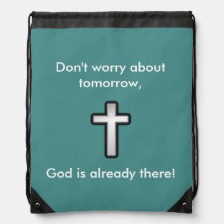 N'inquiétez pas la croix d'ensemble du sac à dos