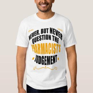 N'interrogez jamais, mais JAMAIS le Judgeme du T-shirts