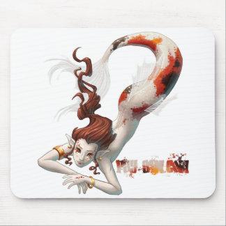 Nix rouge Mousepad Tapis De Souris
