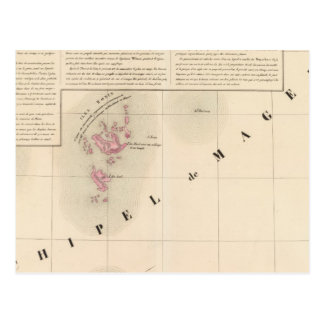 NO1 d'Archipel de Magellan Oceanie Carte Postale