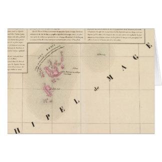 NO1 d'Archipel de Magellan Oceanie Cartes