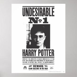NO1 indésirable Poster