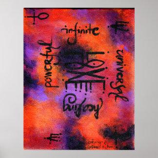 No 1 de talisman d amour poster