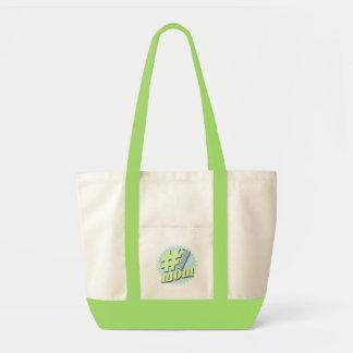 No. 1 sac fourre-tout au jour de mère de maman