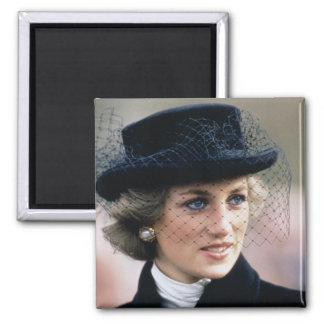 No.44 princesse Diana France 1988 Magnet Carré