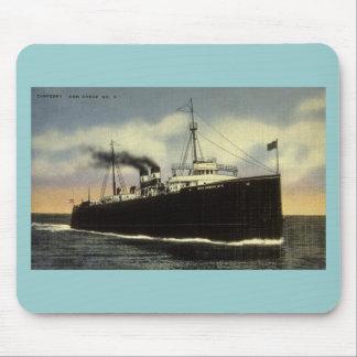 No 6 de car-ferry d Ann Arbor - Arthur K Atkinso Tapis De Souris