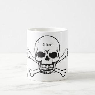 No. atomique 33 de tasse de poison de crâne