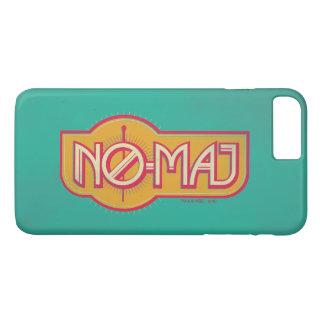 NO--Commandant rouge et jaune Badge Coque iPhone 7 Plus