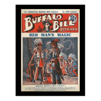 No. original 439 de bibliothèque de Buffalo Bill Carte Postale