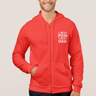 No (sachez) douleur, aucun gain veste à capuche