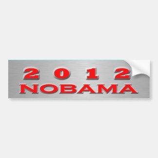 Nobama 2012 autocollant pour voiture