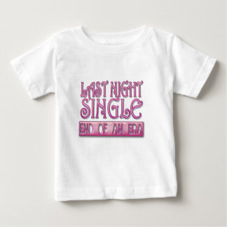 noce simple de bachelorette de la nuit dernière t-shirts
