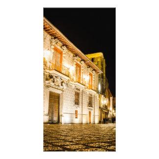Nocturnal brights cartes avec photo