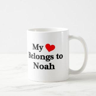 Noé a mon coeur mug blanc