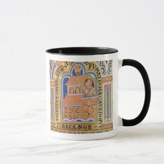 Noé et arche, détaillent un de panneaux Verduner Mug