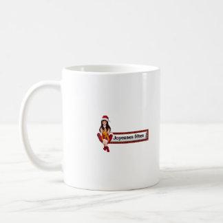 Noel1, joyeuse-fete18 mug blanc