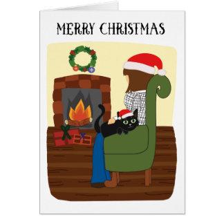 Noël #2 de basket carte de vœux