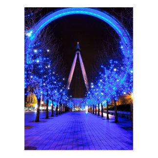 Noël à l'oeil de Londres Carte Postale