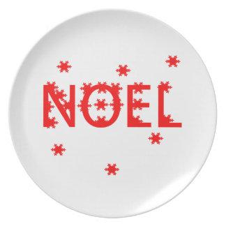 Noël Assiette
