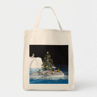 Noël au Pôle Nord Sac En Toile