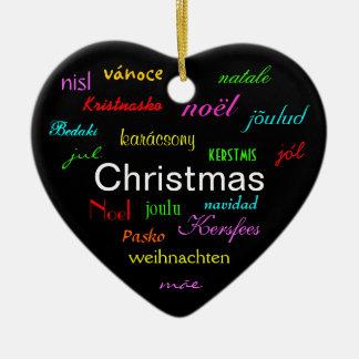 Noël autour du monde dans le noir III Décorations De Noël