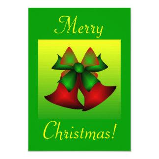 Noël Bells I Invitation Personnalisable