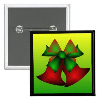 Noël Bells III Badge Avec Épingle
