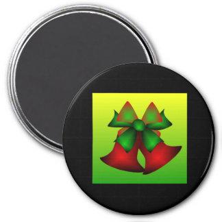 Noël Bells III Magnets Pour Réfrigérateur