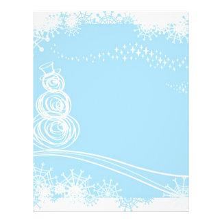 Noël bleu prospectus 21,6 cm x 24,94 cm
