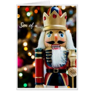 Noël - casse-noix carte de vœux