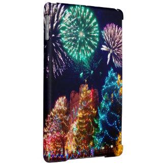 Noël, coloré, couleurs d'arc-en-ciel, avènement,