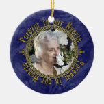 Noël commémoratif celtique de photo de bleu marine
