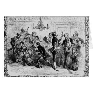 Noël dans le Hall de l'employé Cartes