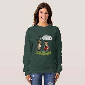 Noël dans le pullover drôle de safari de Bush |