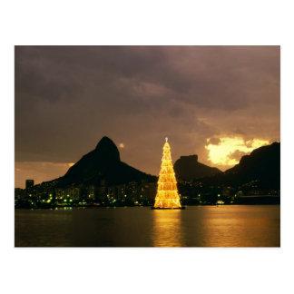 Noël dans le Rio de Janeiro Brésil Cartes Postales