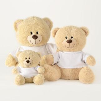 Noël dans notre ours de nounours de coeurs