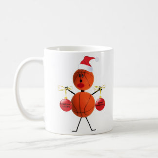 Noël de basket-ball mug