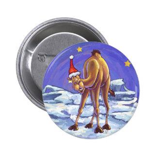 Noël de chameau pin's