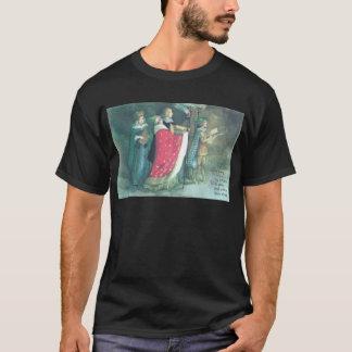 Noël de cru de cortège de la Renaissance T-shirt