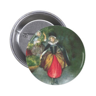 Noël de cru de femmes de la Renaissance Pin's Avec Agrafe