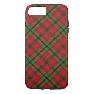 Noël de fête de vacances de plaid de tartan coque iPhone 7 plus