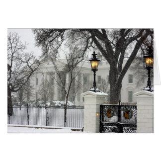 Noël de la Maison Blanche Cartes