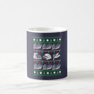 Noël de livre mug