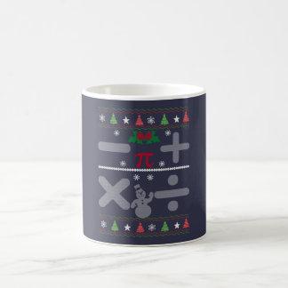 Noël de maths mug