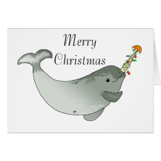 Noël de Narwhal Cartes