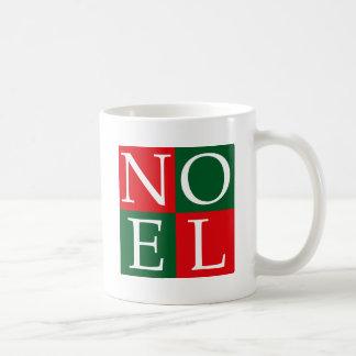 NOEL de Noël d'art de bruit Mug